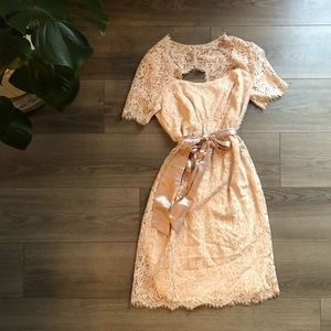 Seraphine luxe maternity dress